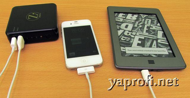 ZAGG Sparq 2.0 заряжает два устройства
