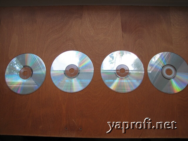 Старые CD диски