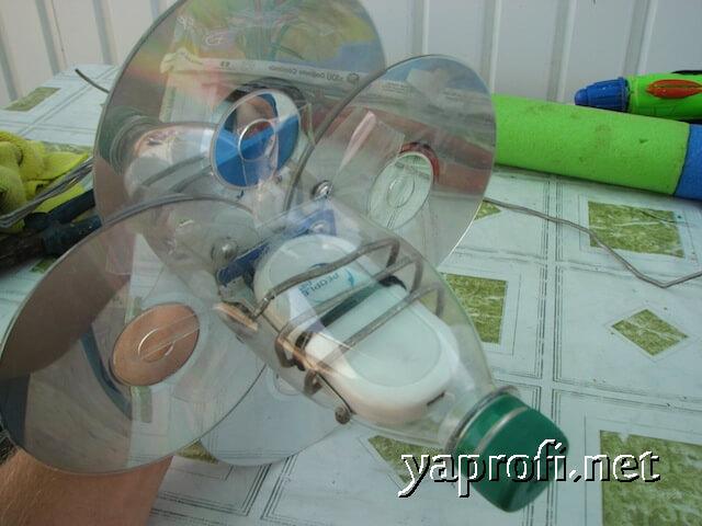 Изготавливаем защиту из пластиковой бутылки