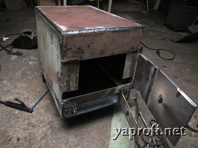 Дверцы топливника и зольника