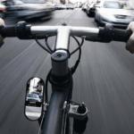 Установка велосипедного зеркала Zefal Spin