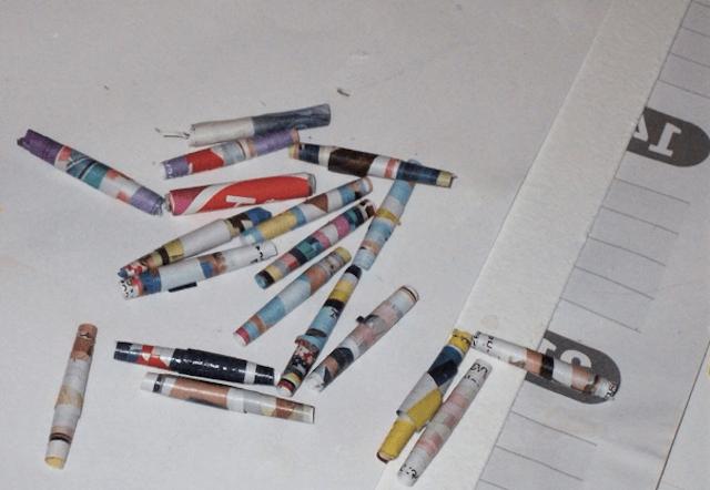 Елочные украшения из бумаги