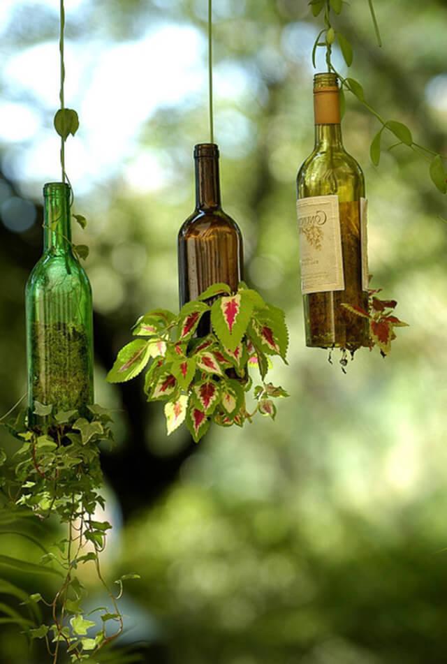 антуражные поделки из бутылок