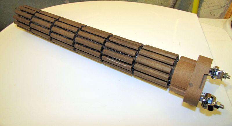 Сухой ТЭН - нихромовая нить на керамическом (стеатитовом) основании