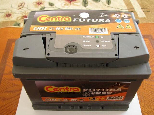 Аккумулятор Centra Futura CA602