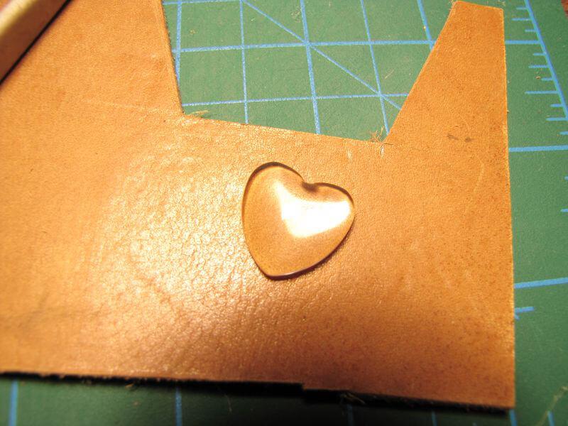 Акриловое сердечко для декора