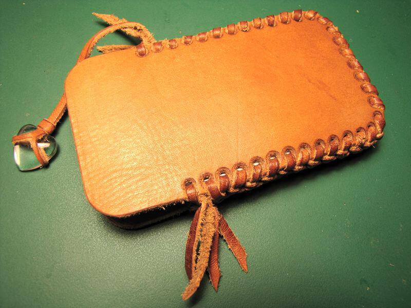 Кожаный чехол для смартфона на яПрофи