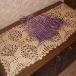 Вязанная салфетка крючком —  уют в доме