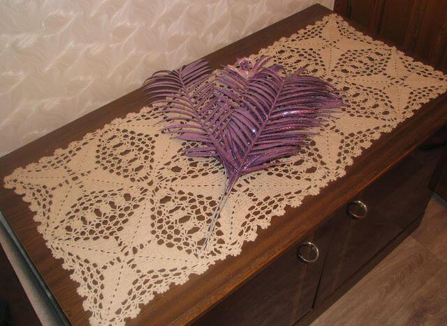 Элементы декора на салфетке