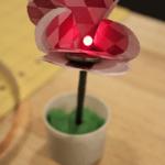 Светодиодный цветочек ко Дню Влюбленных
