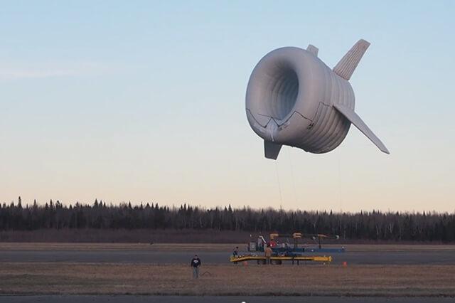 Экспериментальный запуск Buoyant Airborne Turbine