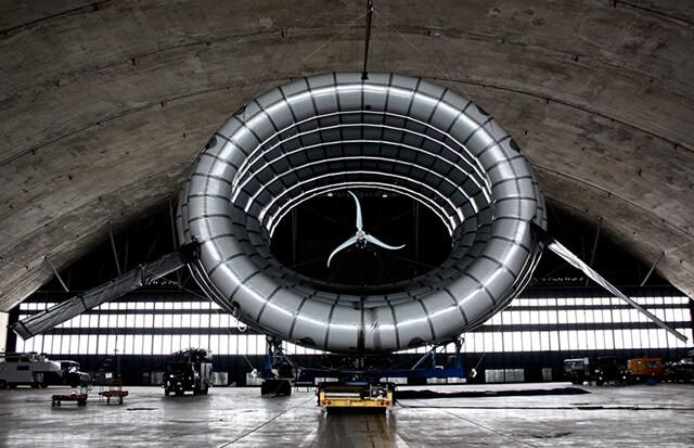 Летающий генератор