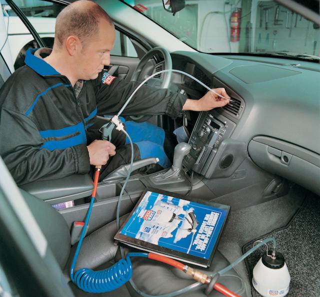 Чистка системы кондиционирования автомобиля своими руками