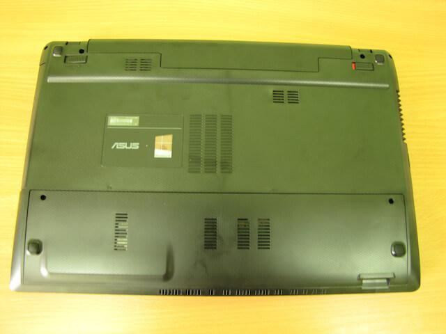 Задняя панель ноутбука Asus X55