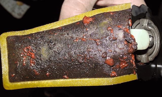 Типливный фильтр забит ржавчиной