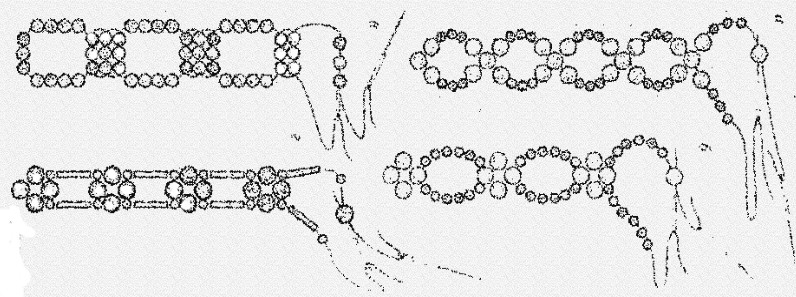 Браслеты из бисера имена своими руками схемы 3