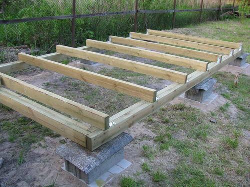 Строим деревянный сарай своими руками. Подробная